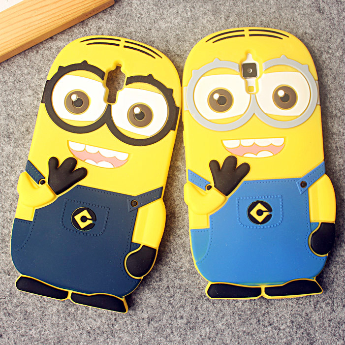 note3小黄人手机套