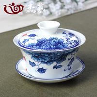 景德镇青花瓷茶碗