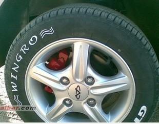 13寸 奇瑞QQ汽车 五爪 铝合金 轮毂  缸盆 铝轮 送 标志盖