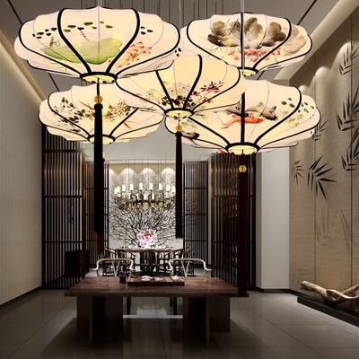 中式吊灯中国风新古典灯笼灯复古饭店餐厅火锅店灯具仿古禅意灯饰品牌巨惠