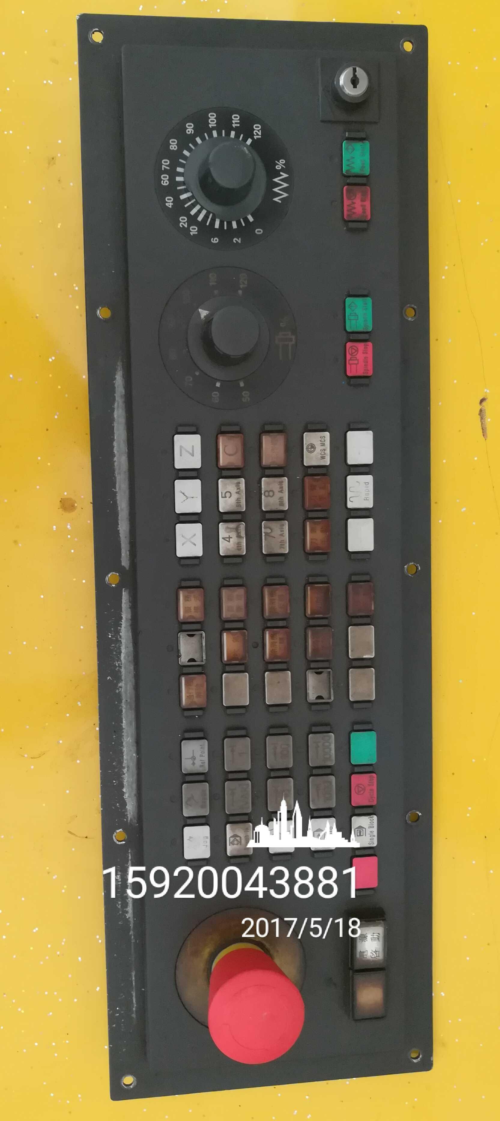 东莞凤岗供应西门子840D操作面板偶尔死机按健失效维修特价包邮