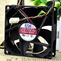 AVC 8025 8CM 12V0.5A high air volume PWM four-wire speed control CPU fan DL08025R12U