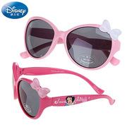 迪士尼公主太阳镜女童偏光镜墨镜防紫外线夏季遮阳眼镜女孩蝴蝶结