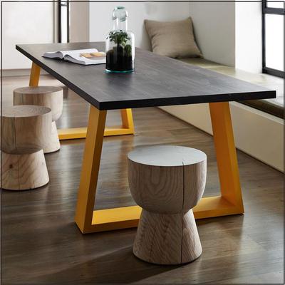 美式乡村loft餐桌复古铁艺办公桌实木现代简约会议桌咖啡桌最新最全资讯