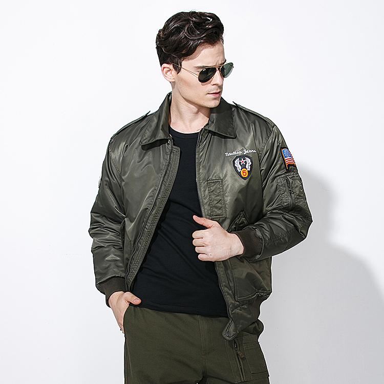 自由骑士户外秋冬军迷夹克男装外套保暖战术中年飞行员夹克压缩棉3元优惠券