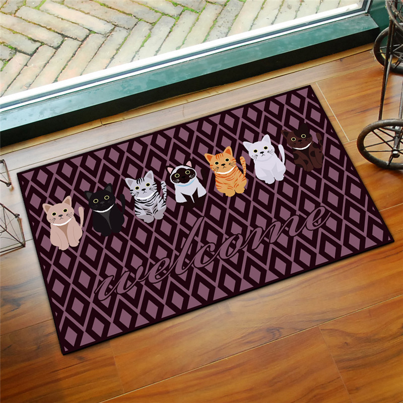 地毯門墊卡通