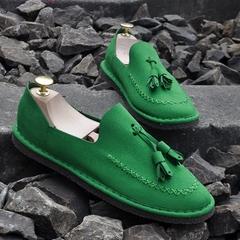男生豆豆鞋