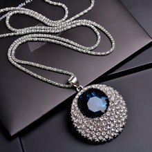 3 pieces 25 yuan 2019 Japan and South Korea fashion sweater chain long paragraph wild Korean autumn and winter necklace moon ornaments with accessories