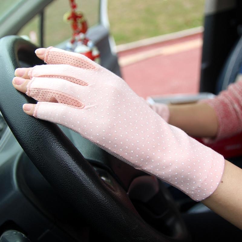 Женские перчатки без пальцев Артикул 566443937525