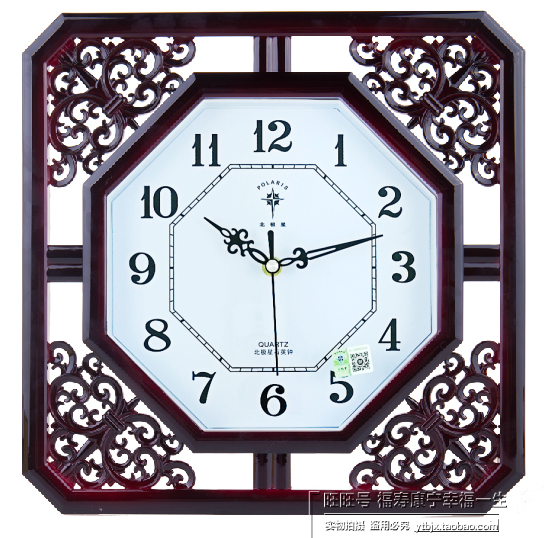 时钟挂钟客厅花