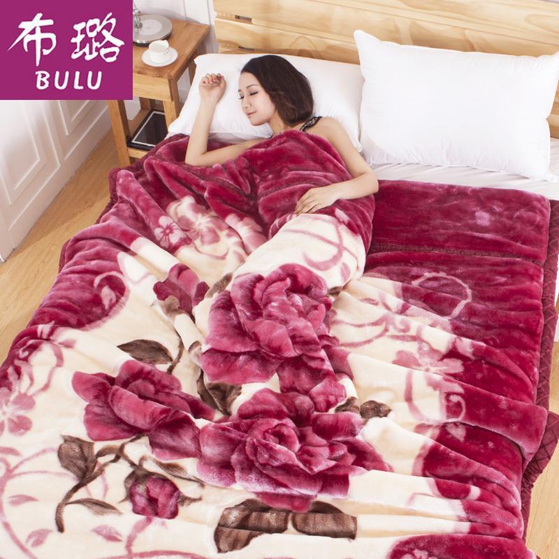 毛毯6斤加厚双层