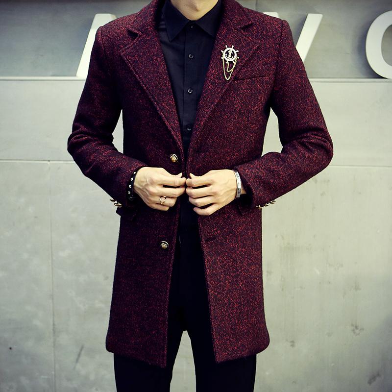 型男大衣外套