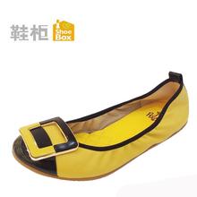达芙妮旗下 SHOEBOX/鞋柜春款正品女单鞋1114101038