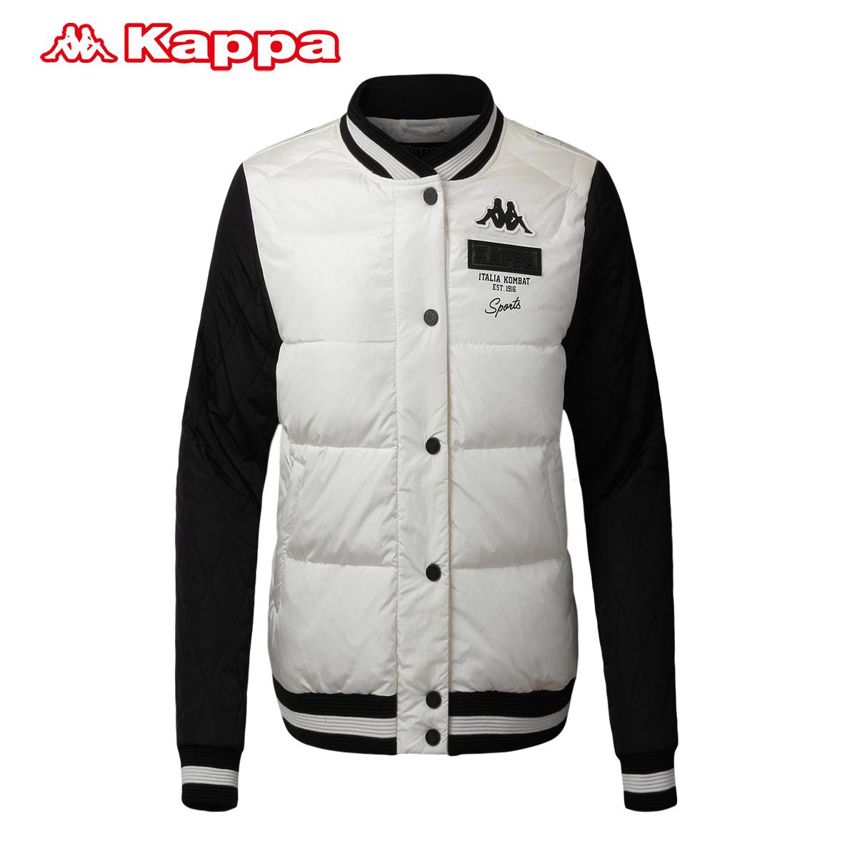 Kappa卡帕女款羽绒服轻薄立领运动外套女装棒球衫|K0562YY03