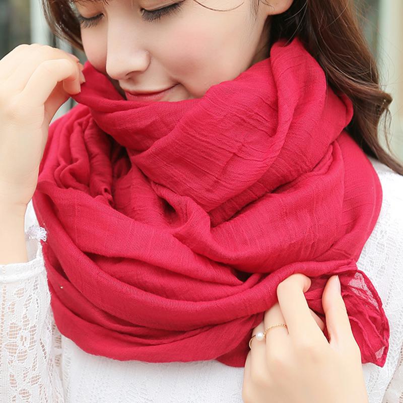韩版丝巾围巾