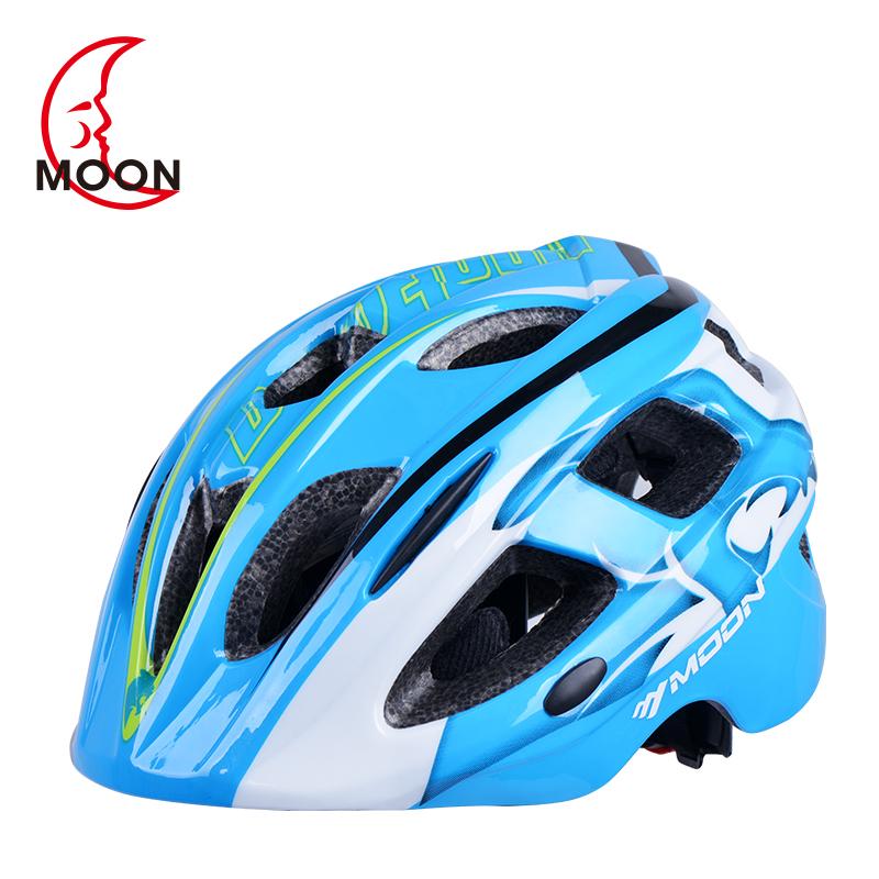自行车骑Moon儿童骑行头盔行装备护具轮滑