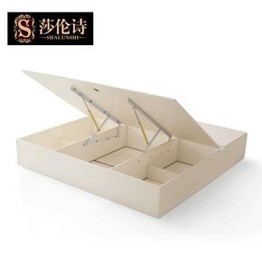 莎伦诗家具 欧式床韩式床白色简美床复古美式床高箱不单卖