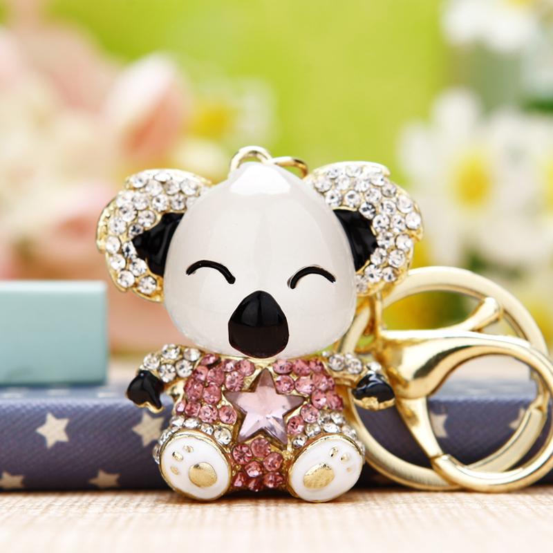 小熊吊钥匙扣