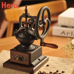 磨豆机磨豆机咖啡磨粉机复古手动研磨机