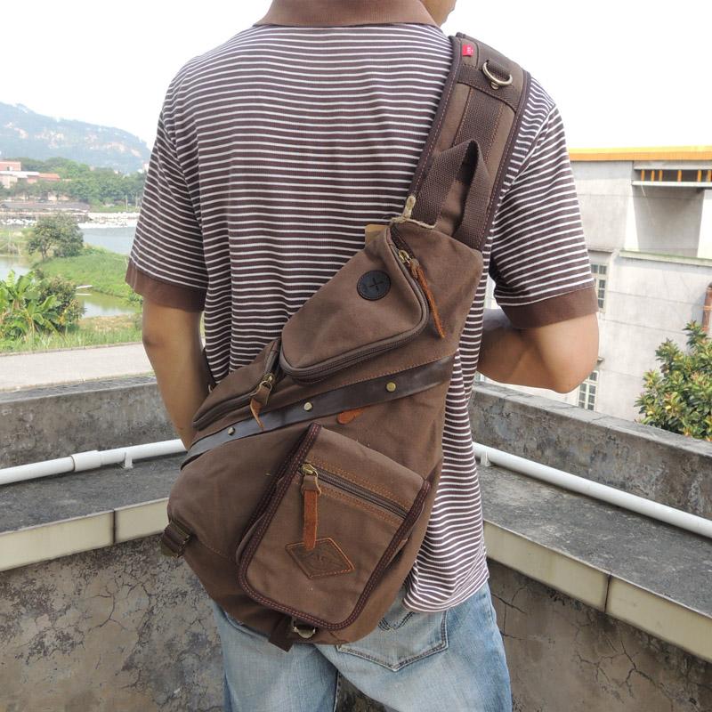 Мужские рюкзаки через плечо Артикул 40104444173