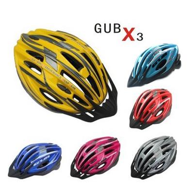 正品GUB X3 自行车头盔 山地车装备 公路车 骑行头盔 装备