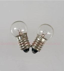 手电灯泡小电珠1.5V2.5V3.8V4.8V6V6.2V5W0.3A0.5A指示灯螺口E10
