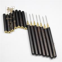 正大优质黑檀木香针 酸枝木竹节香针 纯铜插香针香炉香座香道用具