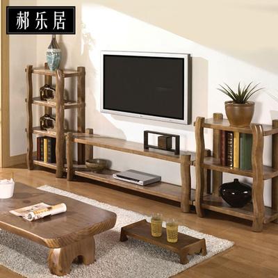 电视柜简约客厅电视柜组合套装仿古纯实木落地柜中式茶几电视柜的评测