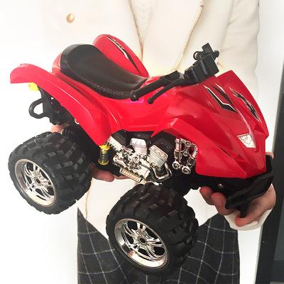 环奇儿童遥控车音乐跳舞特技车电动玩具车摩托车男孩沙滩越野车