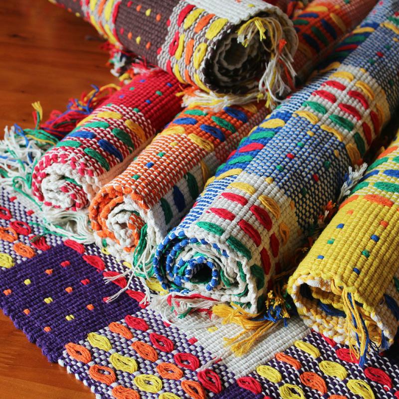 棉线编织沙发垫