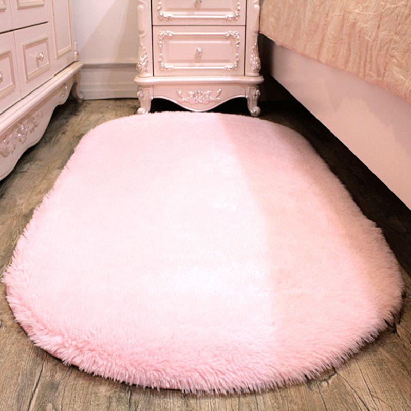 椭圆形地毯地垫