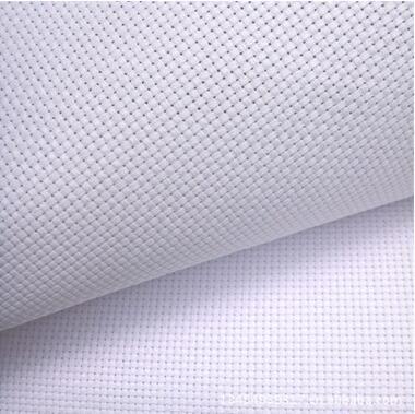 桔边11CT白色面料十字绣面料中格十字绣布150*66厘米