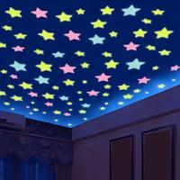 夜光墙贴画