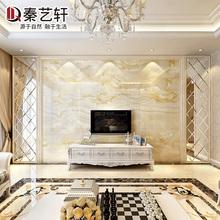 秦艺轩 瓷砖背景墙简欧式客厅3D电视背景墙装饰边框墙砖套餐