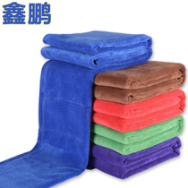 Xin Peng Wash car towel car fiber does not drop hair large thick suction wipe towel wash car cloth supplies 60 180