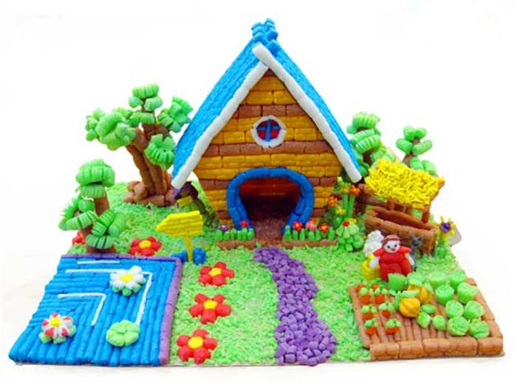 儿童粘粒魔法粘粘颗粒材料制作幼儿小颗粒玉米400幼儿园手工创意
