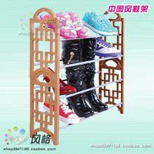 古典式四层多功能组合鞋架/鞋柜/简易鞋架