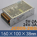 Supply switching power Jincheng-Dashi JC009-2BG 24V3A5V2A