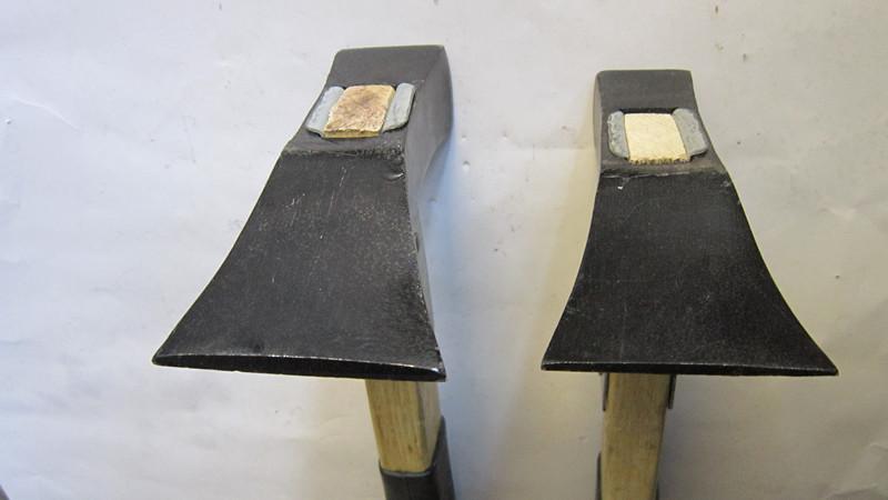 加固木柄胶把刨锛刨斧锤子烤兰包铁皮锻打多用泥瓦工具锄镐锄头铲