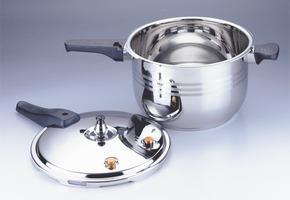 特价!24cm纯304不锈钢高压锅振能U型压力锅 炖煮煲 节能