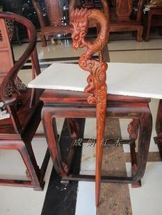 越南特色红木拐杖T老人实木红木拐杖 老人拐杖手杖老年人龙头拐杖