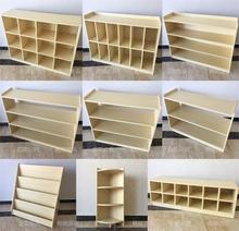 幼儿园柜子儿童书包柜储物格子柜分区防火板组合柜书架玩具收纳架