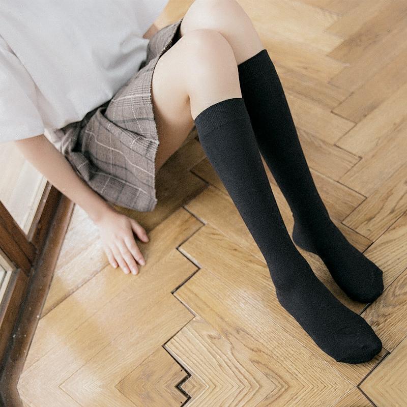 女生高筒袜