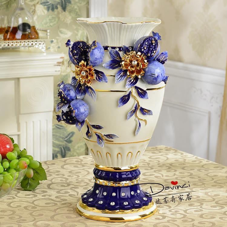 欧式高档陶瓷瓶