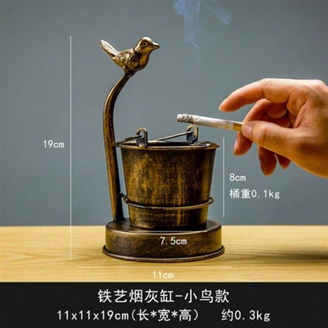 热卖奢华情趣创意金属用品大号个性烟灰缸恶搞烟灰缸ins风多功能
