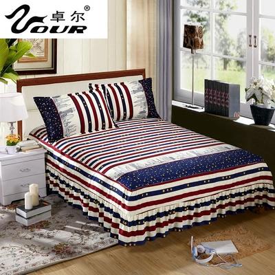 席梦思床罩床裙床套单件韩式公主防滑床盖床单床笠1.8m1.5/2.0米正品折扣