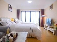阳江海陵岛豪朗度假公寓敏捷黄金海岸店至尊海景双床房