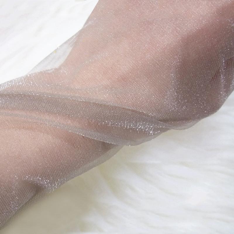 3双免邮珠光丝袜超薄8D亮丝银葱微闪隐形透明连裤袜丝光夏季袜