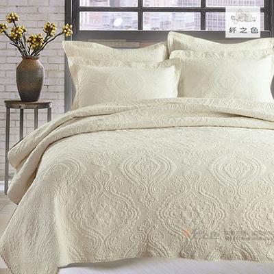 水洗棉绗缝床盖什么牌子好