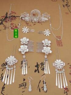 天天特价原创古典饰品复古发簪古风簪子古代步摇流苏古装头饰套装